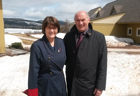 2015-04--27-Visit of The Honourable Jocelyne Roy-Vienneau to Portage -full