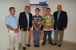 Portage Atlantic News - NB Premier visit