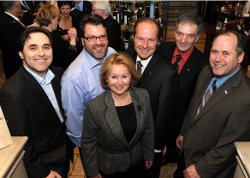 Portage QC News - Reception Chateau Frontenac